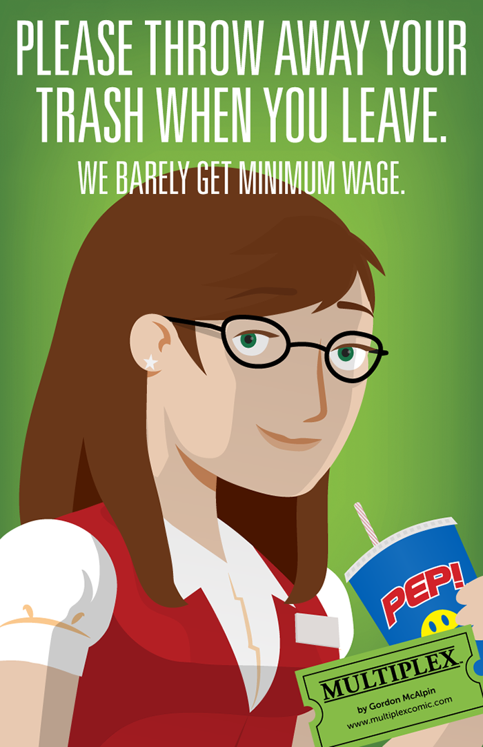 Multiplex Workplace Poster - Becky
