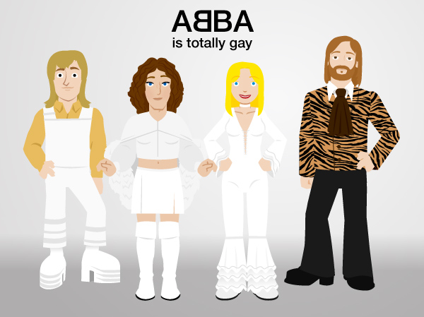 Multiplex #260: ABBA band photo