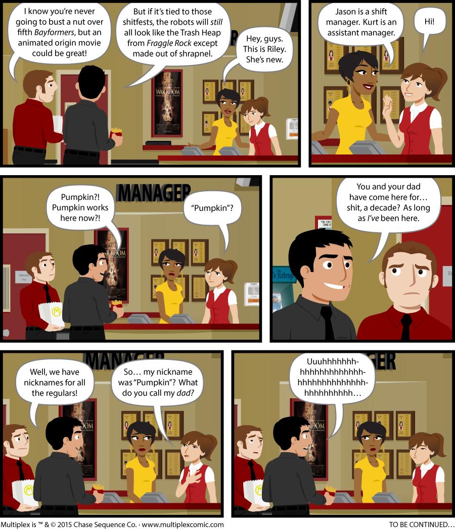 Multiplex #1060: Quick-witted