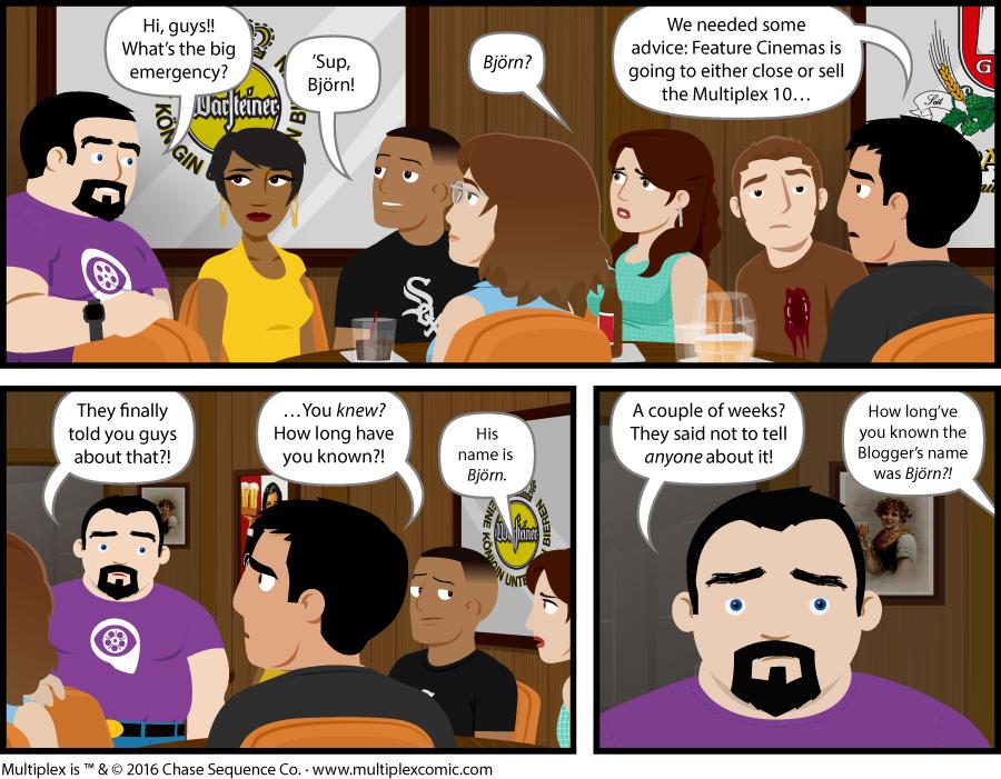 Multiplex #1138: Inside Information