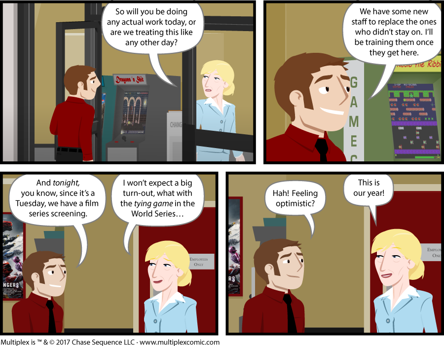 Multiplex #1202: The Last Reel, Part Two