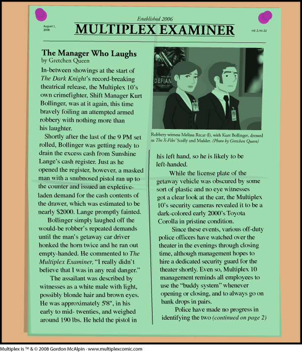 Multiplex #267: Multiplex Examiner for August, 2008