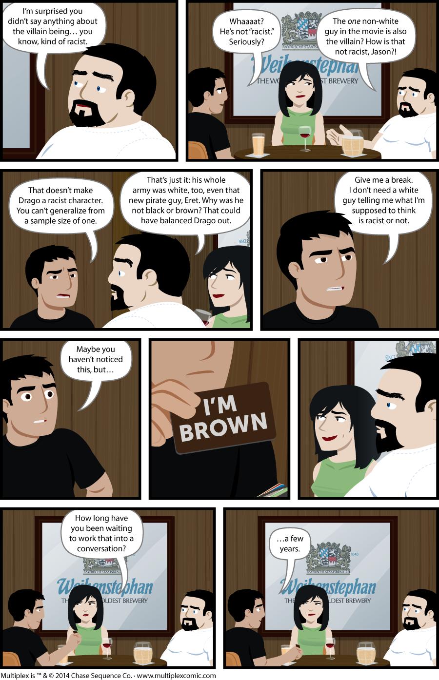 Multiplex #943: Minority Report, Part Two